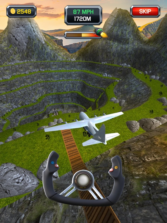 Crazy Plane Landing screenshot 12
