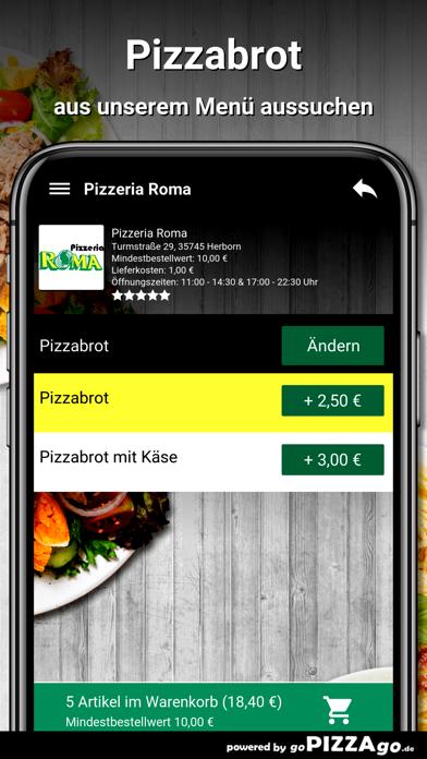 Pizzeria Roma Herborn screenshot 5
