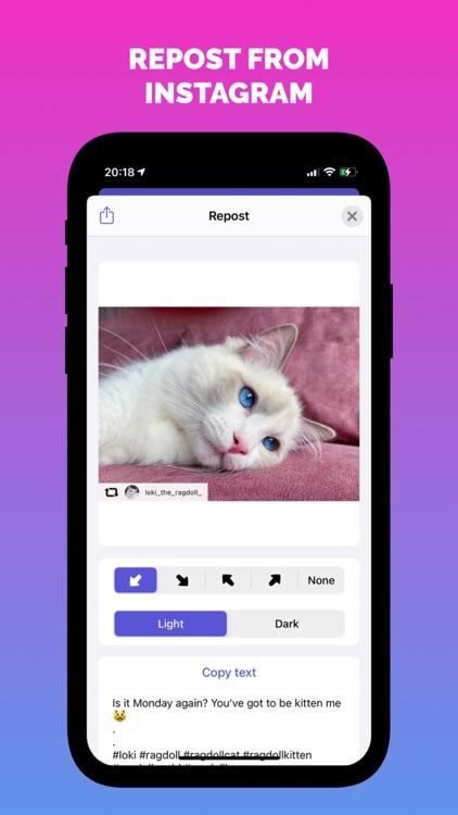 InstRepost - Photos & Videos