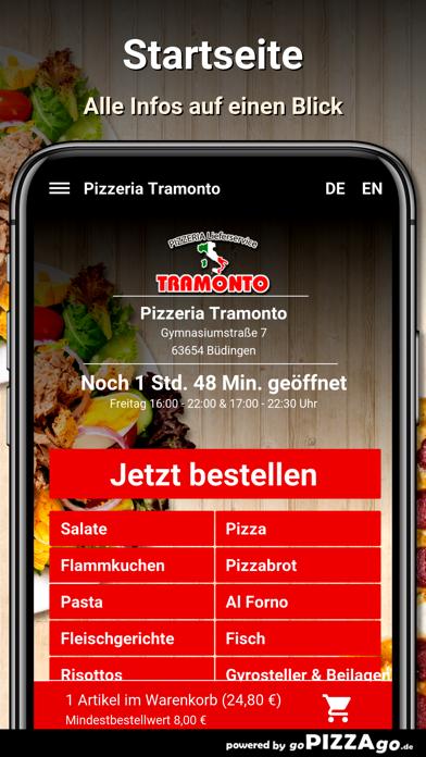 Pizzeria Tramonto Büdingen screenshot 2