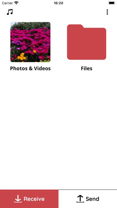 Скриншот №4 к File Transfer App