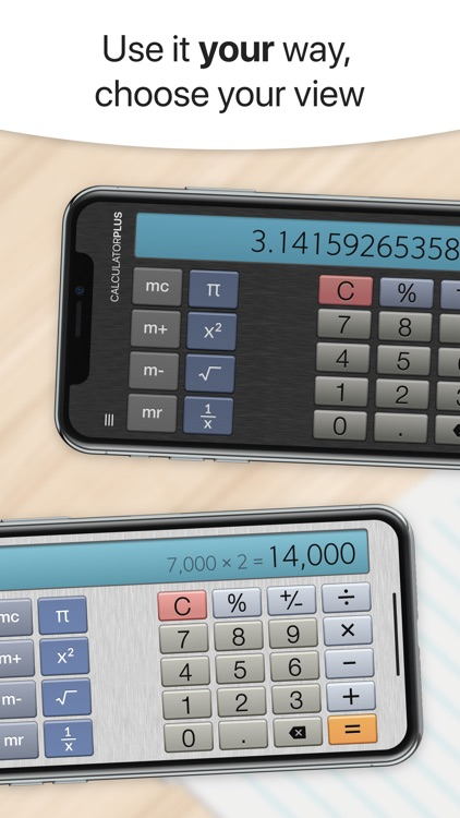 Calculator Plus with History screenshot-3