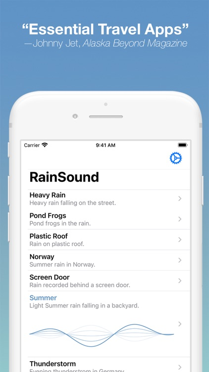 RainSound: Focus, Relax, Sleep