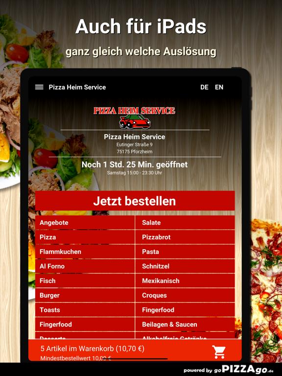 Pizza Heim Service Pforzheim screenshot 7