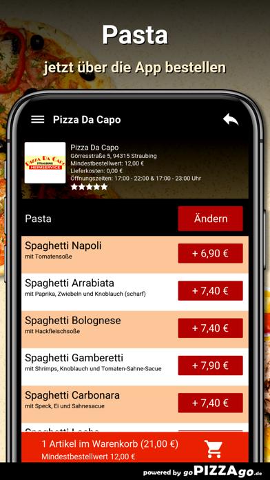 Pizza Da Capo Straubing screenshot 5