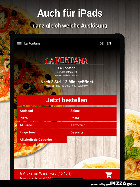 La Fontana Landshut Altdorf screenshot 7