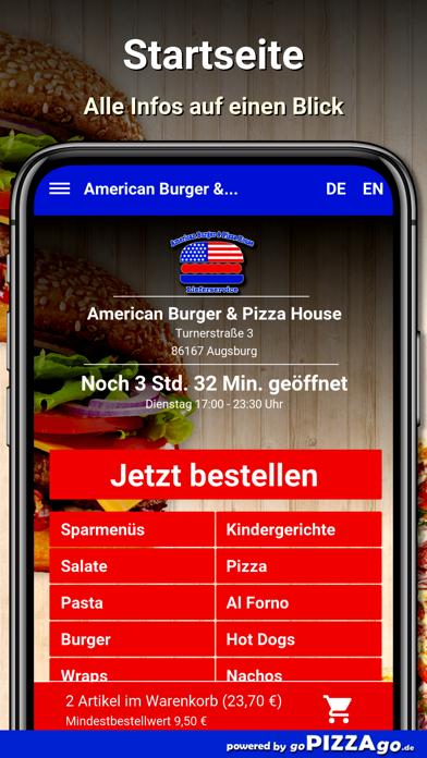American Burger Augsburg screenshot 2