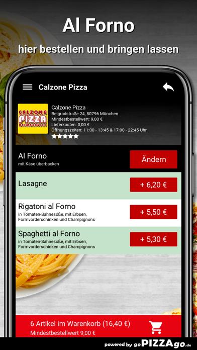 Calzone-Pizza München screenshot 1