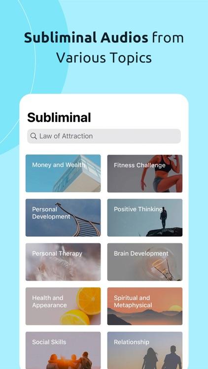 Subliminal: Affirmations screenshot-4