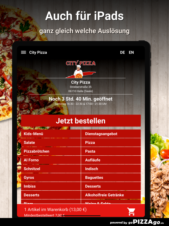 City Pizza Halle (Saale) screenshot 7