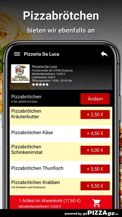 Pizzeria Da Luca Duisburg screenshot 6