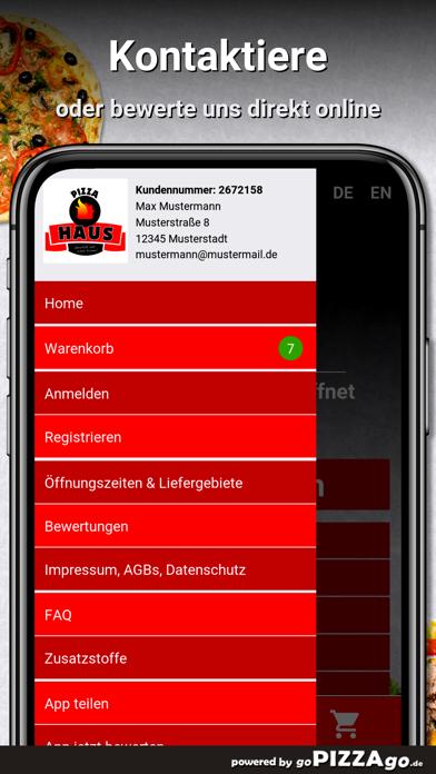 Pizzahaus Herne screenshot 3