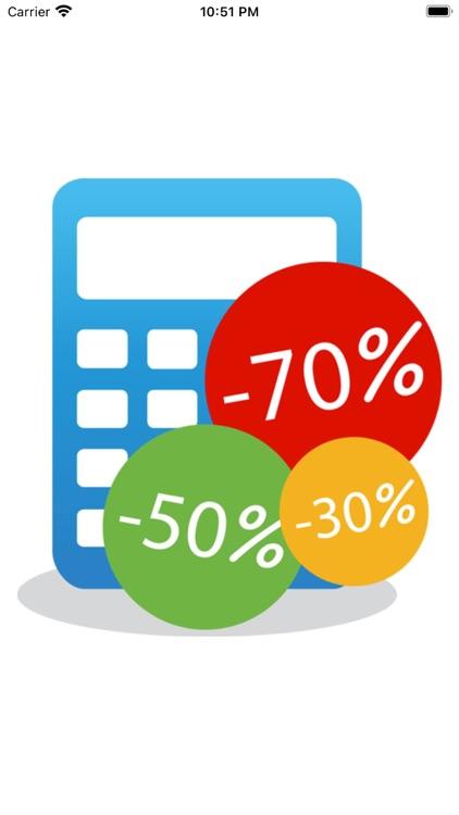 A discount calculator screenshot-5