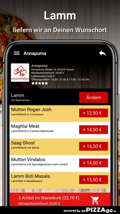 Annapurna Füssen screenshot 6