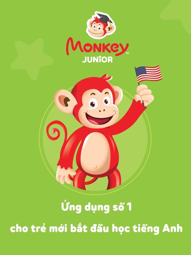 Monkey Junior Bé học tiếng Anh