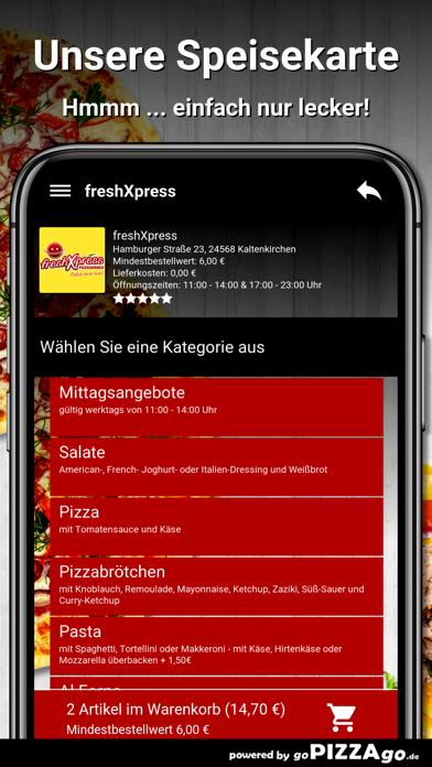 freshXpress Kaltenkirchen screenshot 4