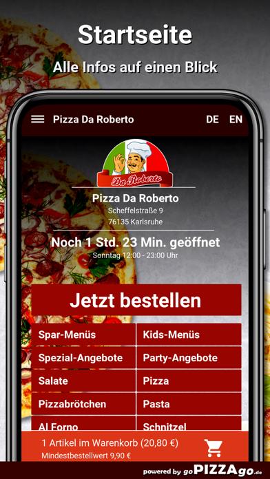 Pizza Da Roberto Karlsruhe screenshot 2