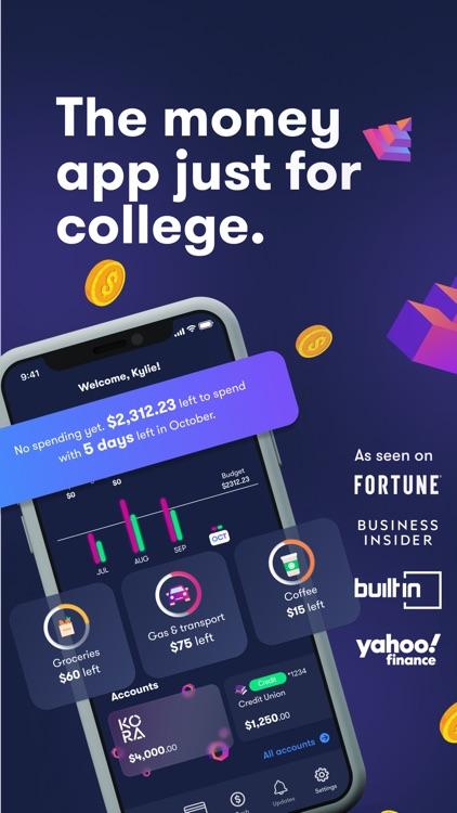 Kora College Student Money App