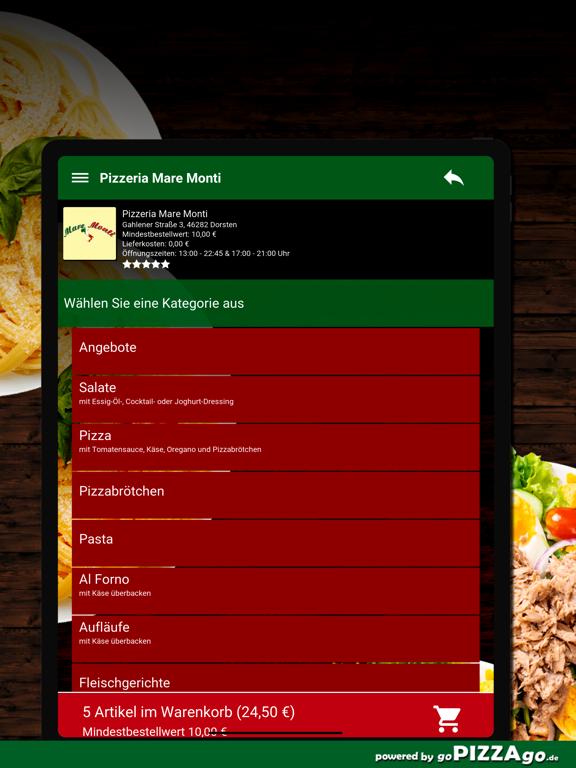 Pizzeria Mare Monti Dorsten screenshot 8