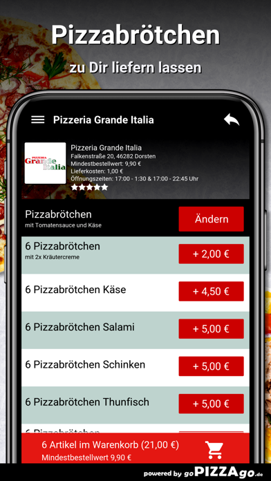 Pizzeria Grande Italia Dorsten screenshot 5