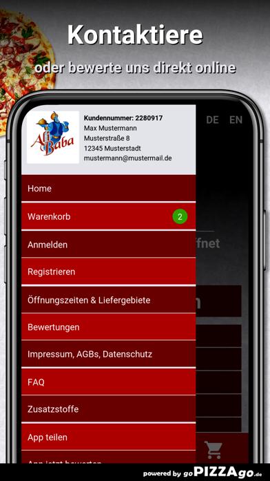 Ali Baba Döner Pizza Schönheid screenshot 3