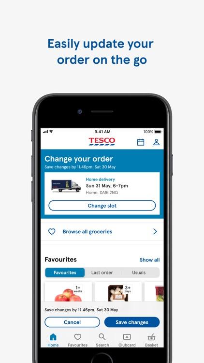 Tesco Grocery & Clubcard screenshot-3