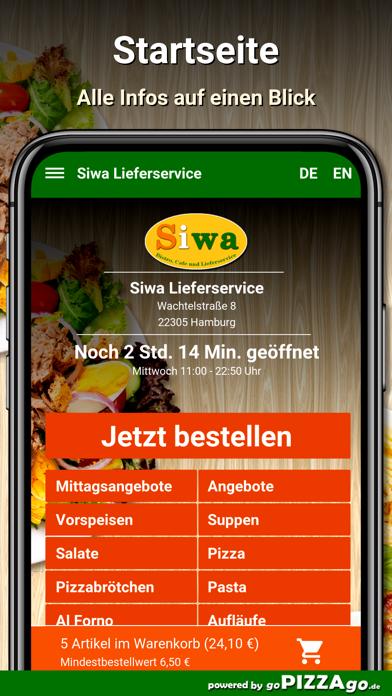 Siwa Lieferservice Hamburg screenshot 2