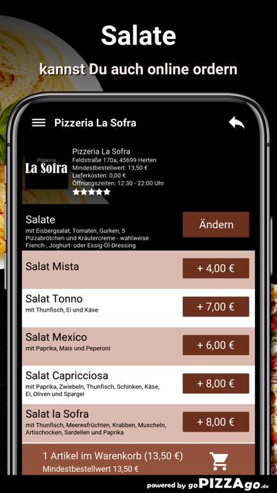 Pizza-Florenz Kassel screenshot 5