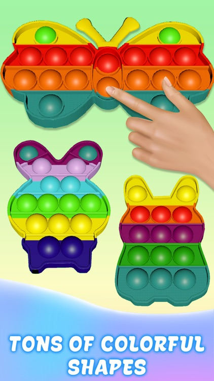 Pop it popop fidget toys screenshot-7