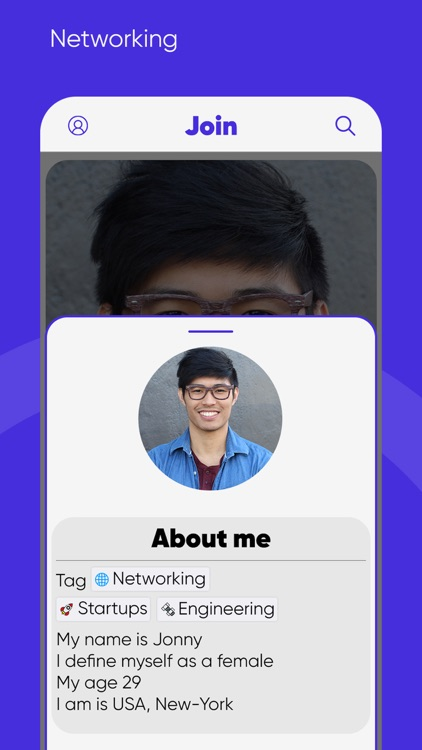 Join - Chat & Meet Peoples screenshot-3