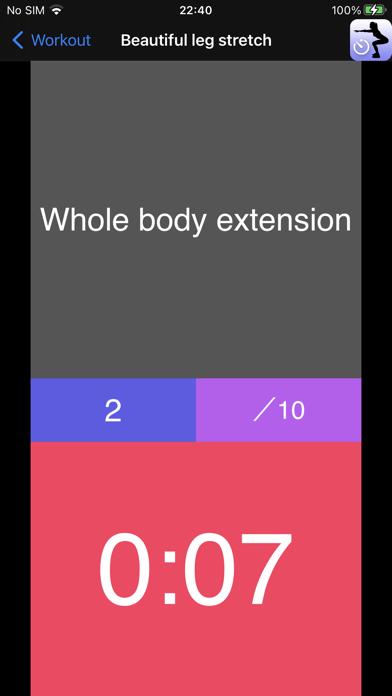 Workout Speech Timer screenshot 8
