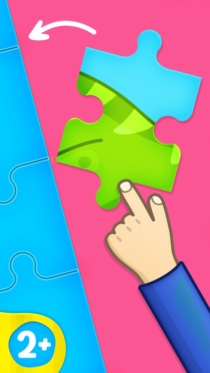 Bimi Boo puzzle games for kids