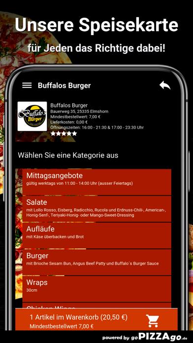 Buffalos Burger Elmshorn screenshot 4