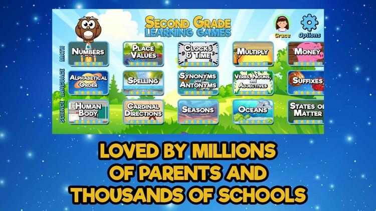 Second Grade Learning Games SE screenshot-3