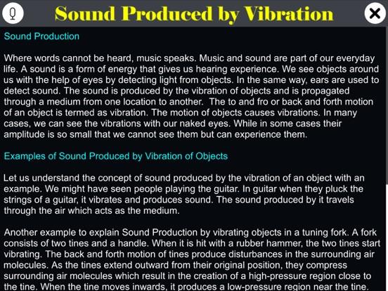 Sound Produced by Vibration screenshot 9