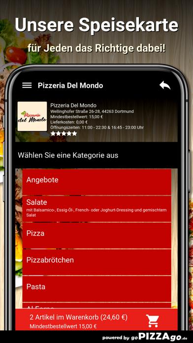 Pizzeria Del Mondo Dortmund screenshot 4