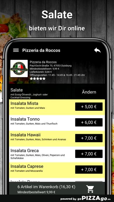 Pizzeria da Roccos Duisburg screenshot 5