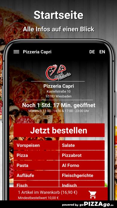 Pizzeria Capri Wiesbaden screenshot 2