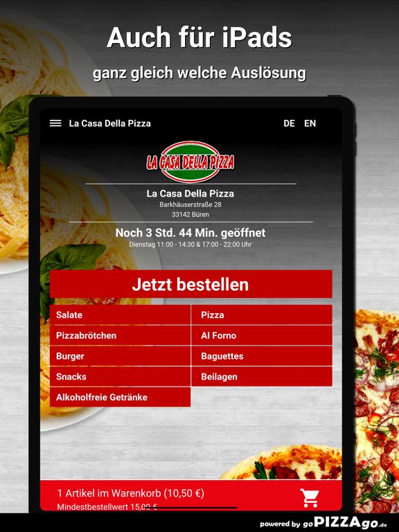 La Casa Della Pizza Büren screenshot 8