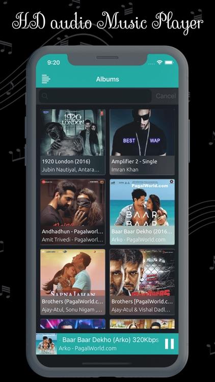 MP3 Music Player Pro screenshot-3