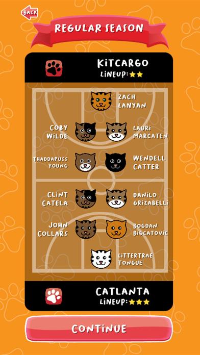 BasCATball Coach screenshot 1