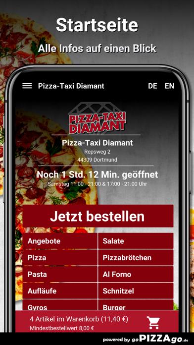 Pizza-Taxi Diamant Dortmund screenshot 2