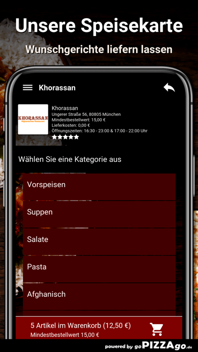 Khorassan München screenshot 4