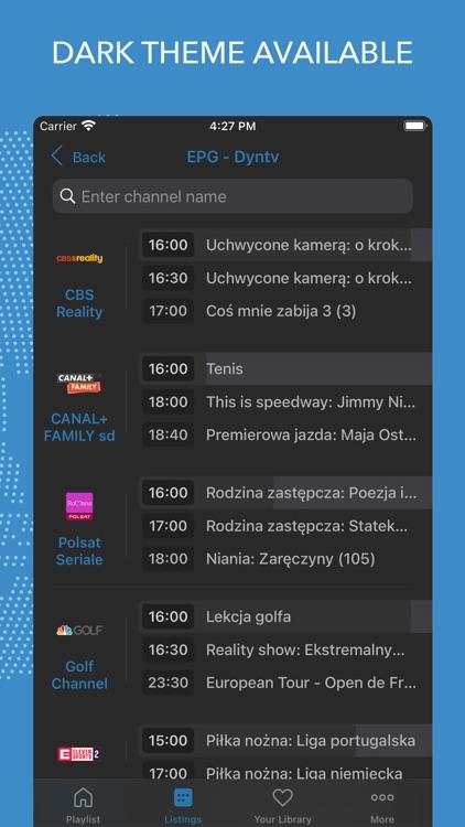 IPTV World: Watch TV Online screenshot-3