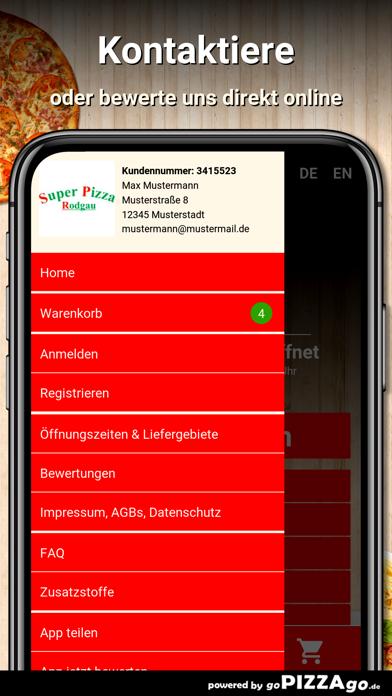 Super-Pizza Rodgau screenshot 3
