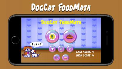 DogCat FoodMath screenshot 1