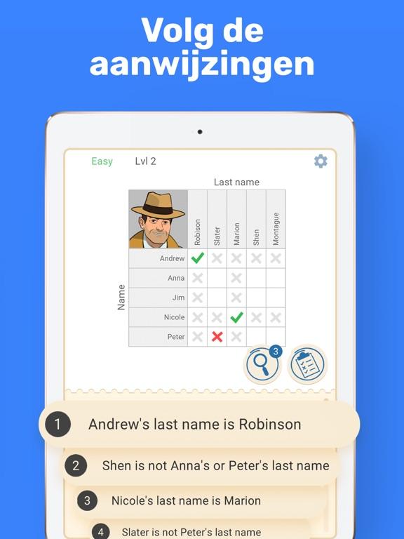 Cross Logic - Logische Puzzels iPad app afbeelding 2