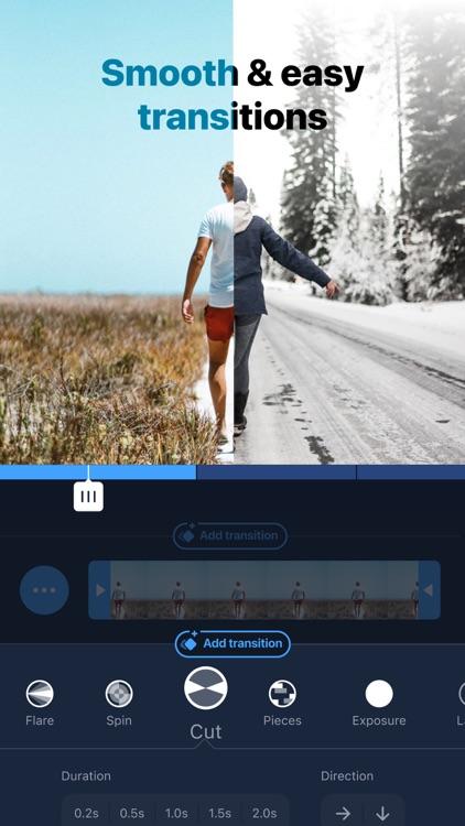 Filmr- 4k Video Editor & Maker screenshot-3