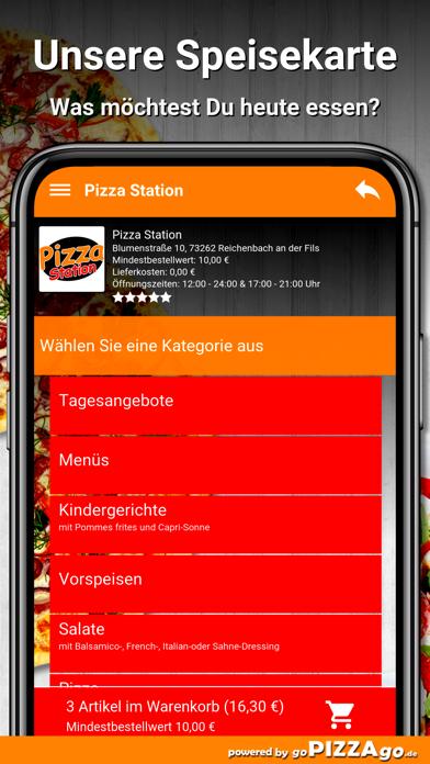 Pizza-Station Reichenbach screenshot 4