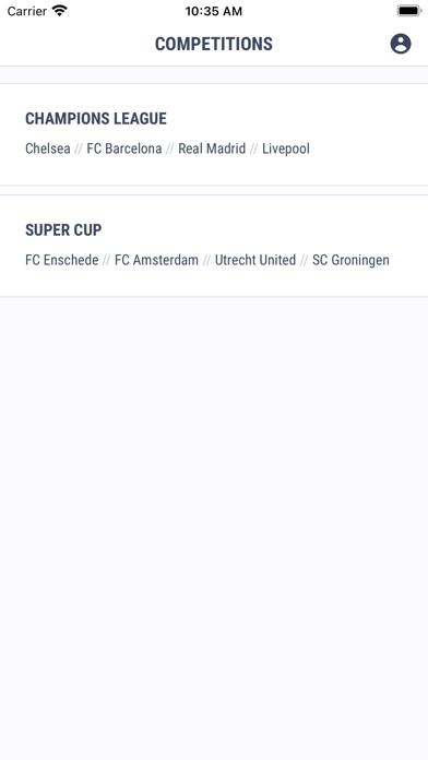 Cupper Sports screenshot 1